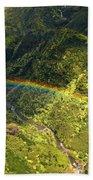 Kauai Rainbow Beach Towel