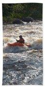 Kayak 1 Beach Towel
