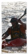 Kayak 2 Beach Towel