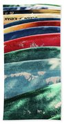 Kayaking Forever  Beach Towel