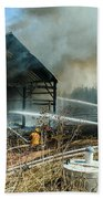 Keep Fire In Your Life #15 Beach Towel