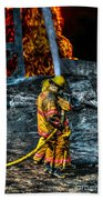 Keep Fire In Your Life No 8 Beach Towel