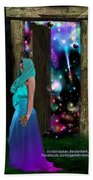 Keeper Of Other Worlds  Beach Towel