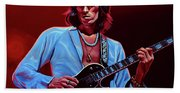 Keith Richards The Riffmaster Beach Towel