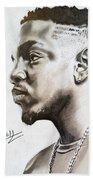 Kendrick Lamar Beach Towel