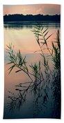 Kennersley Pt Marina Beach Towel