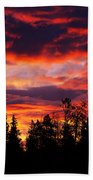 Kenosha Pass Sunrise Beach Towel