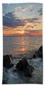 Kent Island Mother's Day Sunset Beach Towel