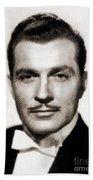 Kent Taylor, Vintage Actor Beach Towel