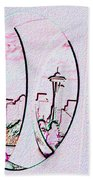 Kerry Needle 2 Beach Towel