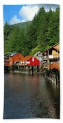 Ketchikan Creek Beach Towel
