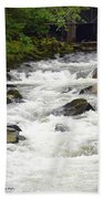 Ketchikan Creek Of Creek Street Fame Beach Towel