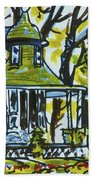 Kew Gardens Gardener's Cottage Beach Towel