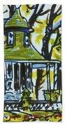 Kew Gardens Gardener's Cottage Beach Sheet