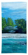 Key West Beach Beach Towel
