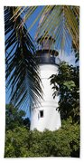 Key West Lighthouse Beach Towel