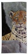 Khensu,  Jaguar Beach Towel