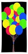 Kids Korner Balloons Beach Towel