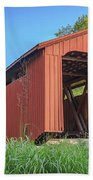 Kidwell Covered Bridge Beach Towel