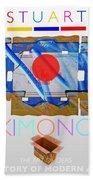 Kimono Poster Beach Towel