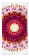 Kindness Mandala Art By Sharon Cummings Beach Towel