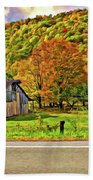 Kindred Barns Painted Beach Towel