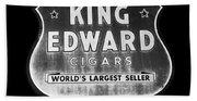 King Edward Cigars Beach Sheet