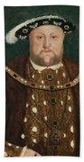 King Henry V I I I Beach Towel