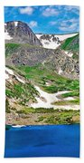 King Lake At Rollins Pass T Beach Towel