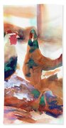 King Of The Roost Beach Towel