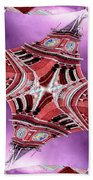 King Street Station In Fractal Beach Towel