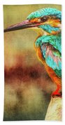 Kingfisher's Perch 2 Beach Towel