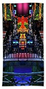 Kingly Venice Reflection Beach Towel