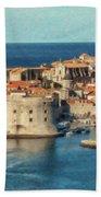 Kings Landing Dubrovnik Croatia - Dwp512798 Beach Towel