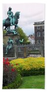 Kings Square Statue Of Christian 5th Beach Towel