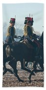 Kings Troop Rha Beach Towel