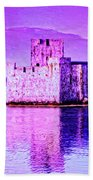Kisimul Castle Beach Towel