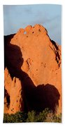 Kissing Camels Formation At Garden Of The Gods Beach Towel