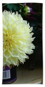 Kitchen Dahlia Beach Towel