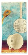 Kitchenware Beach Towel