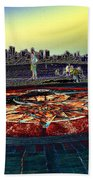 Kite Hill Sundial Beach Towel