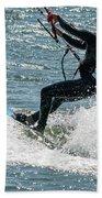 Kite Surfing Beach Towel