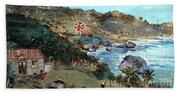 Kites At Bathsheba Beach Towel