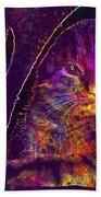 Kitten Red Cat Cat Tom Cat Pets  Beach Towel