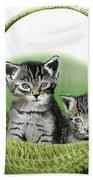 Kitty Caddy Beach Towel