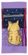 Kitty Loaf Beach Towel