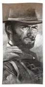 Klint Eastwood Beach Towel