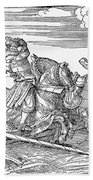Knights: Jousting, 1517 Beach Towel