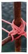Knot On My Warf IIi Beach Sheet