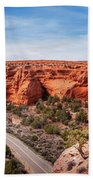 Kodachrome Basin State Park Panorama Beach Towel